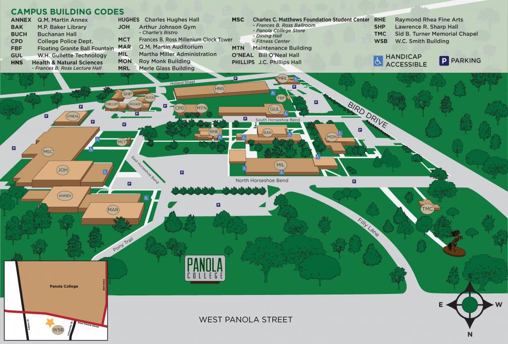 Campus Map - Carthage Texas Map