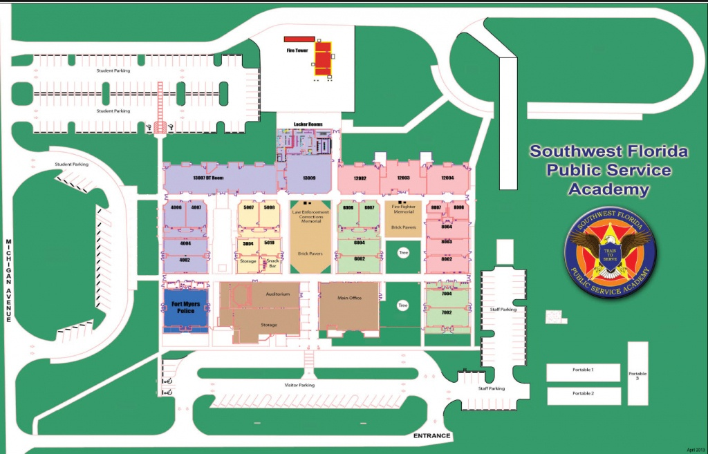 Campus Maps – Fort Myers Technical College - Florida Tech Map