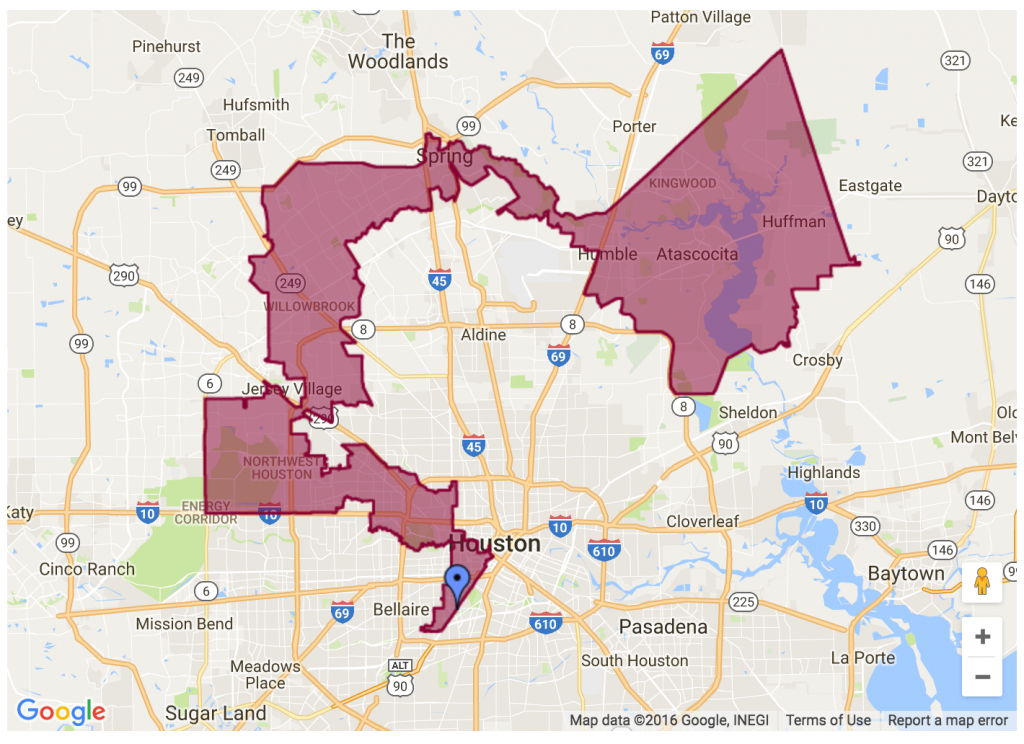 Can Anyone Explain Why My Congressional District, District 2, Looks - Texas Representatives District Map