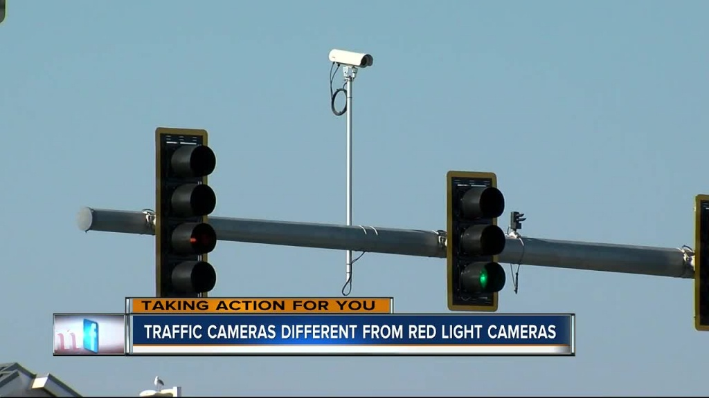 Can You Tell The Difference From A Red Light Camera And A Traffic - Red Light Camera California Map