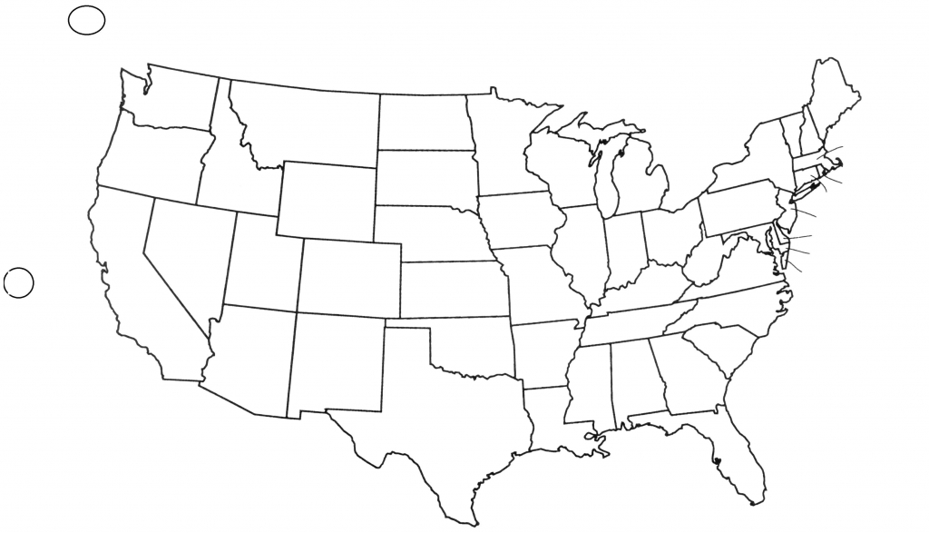 Capitals Awesome United States Blank Map - Berkshireregion - Blank Us Map With Capitals Printable
