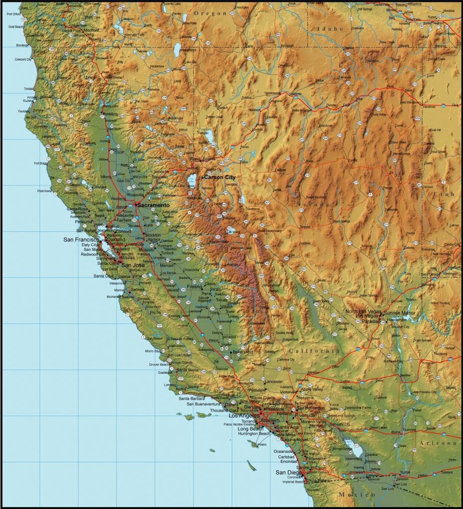 Carson California Map Utsa Parking Nevada City At - Touran - Carson California Map