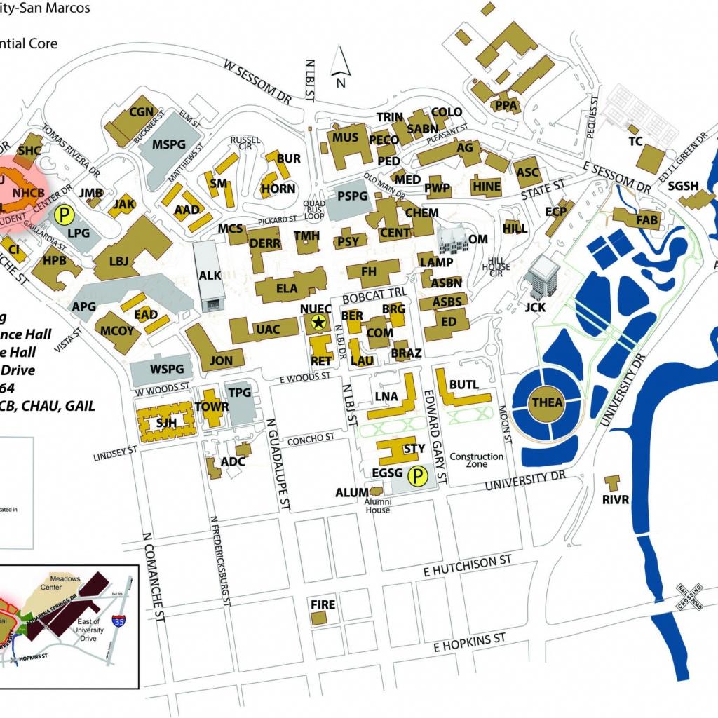 Category: Random Maps 512   Buildyourownserver.co.uk - Texas State University Housing Map