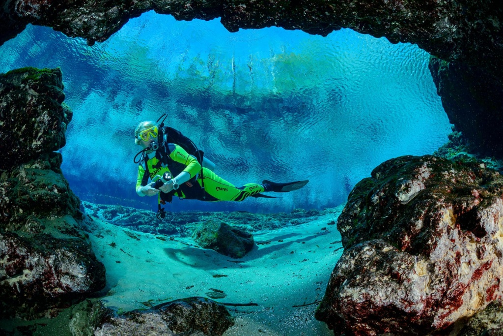 Cave Diving's Mysterious Allure—And Risks - Florida Cave Diving Map