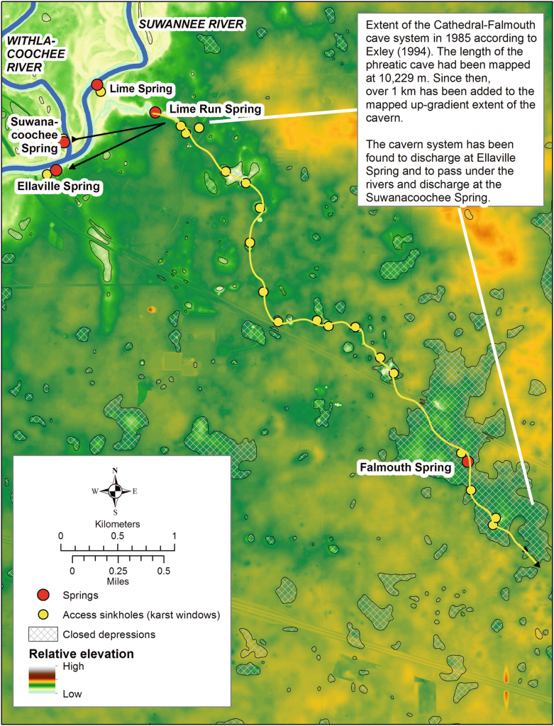 Caves And Sinkholes In Florida | Springerlink - Sinkhole Map Hernando County Florida