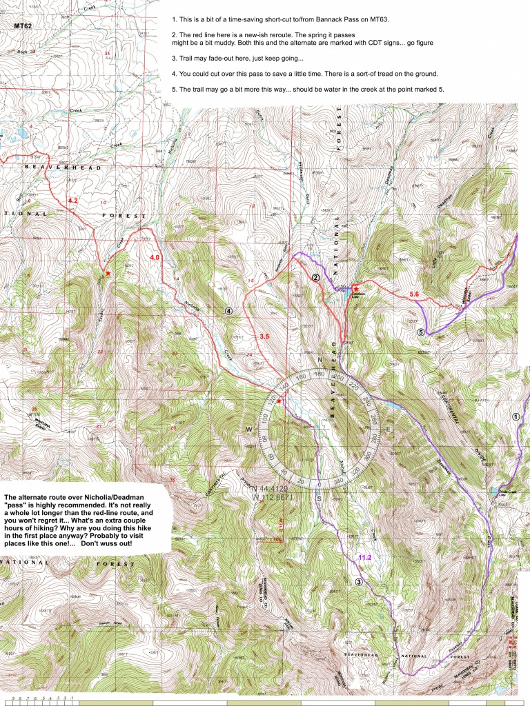 Cdt Maps - Printable Maps By Waterproofpaper Com