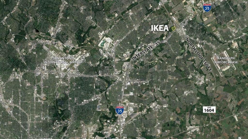 Cencor Realty Services To Leverage Future Ikea Location To Develop - Ikea Locations California Map
