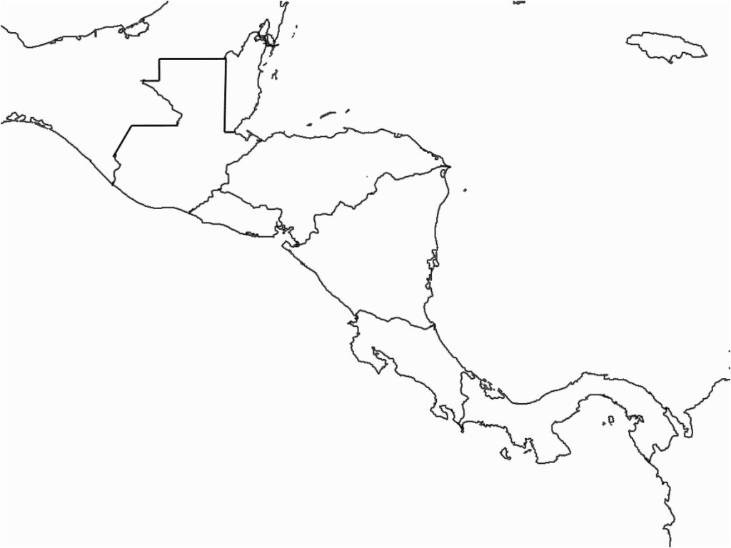 Central America Geography Song And Map Game Roundtripticket Me Maps - Central America Map Quiz Printable