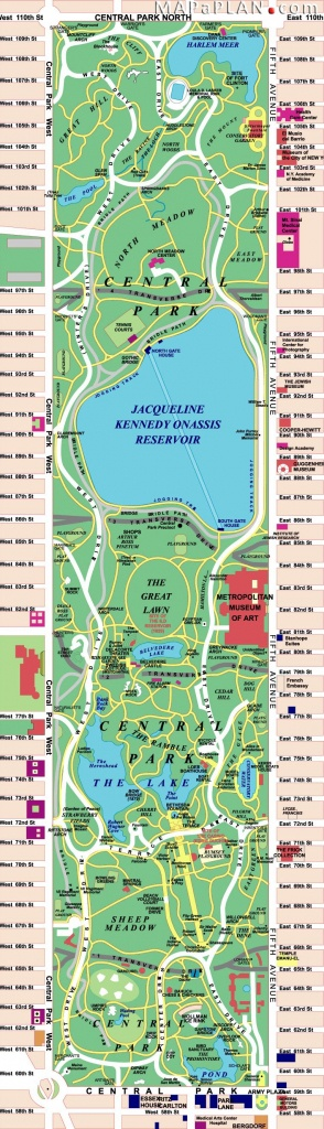Central Park | I Love New York | Central Park Nyc, Central Park Map - Printable Map Of Central Park Nyc