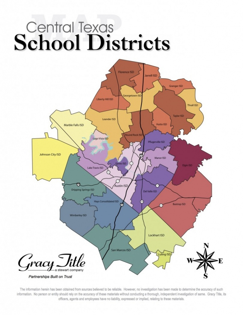Central Texas School District Map - Cedar Park Texas Living - Texas School District Map