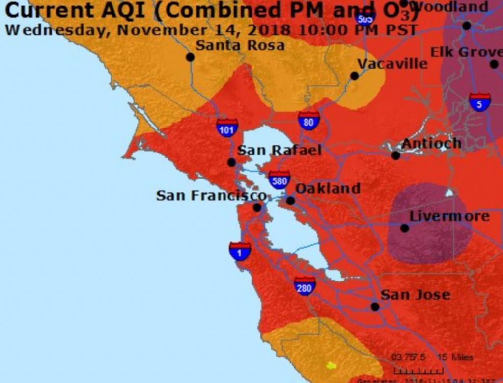 """Ρяιүα Sнυкℓα On Twitter: """"all I Can Do Right Now Is Look At This Aqi - Aqi Map California"""