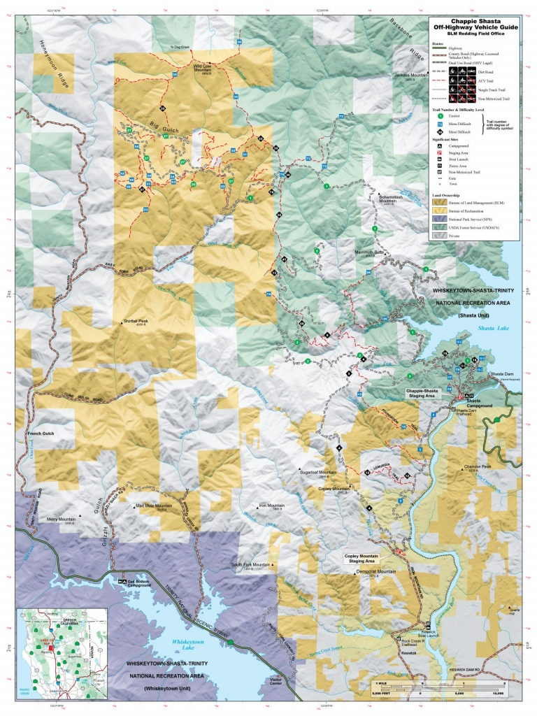 Chappie Blm Map | Off Road | Offroad, Trail Maps, California Map - California Ohv Map