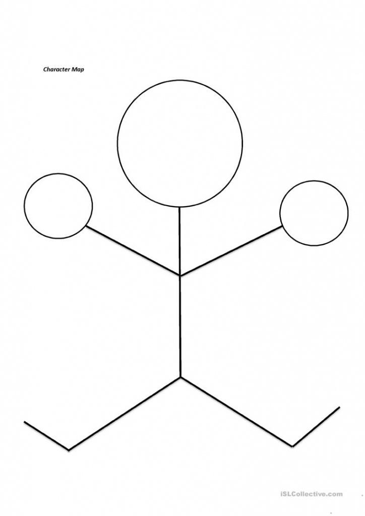 Character Worksheet - Free Esl Printable Worksheets Madeteachers - Printable Character Map