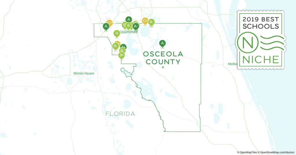 Charter Schools In Osceola County, Fl - Niche - Map Of Osceola County Florida