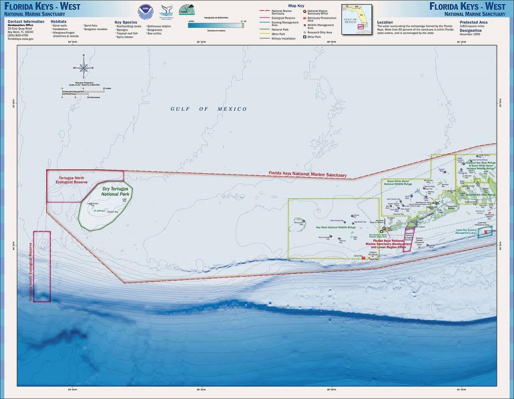 Charts And Maps Florida Keys - Florida Go Fishing - Map Of Lower Florida