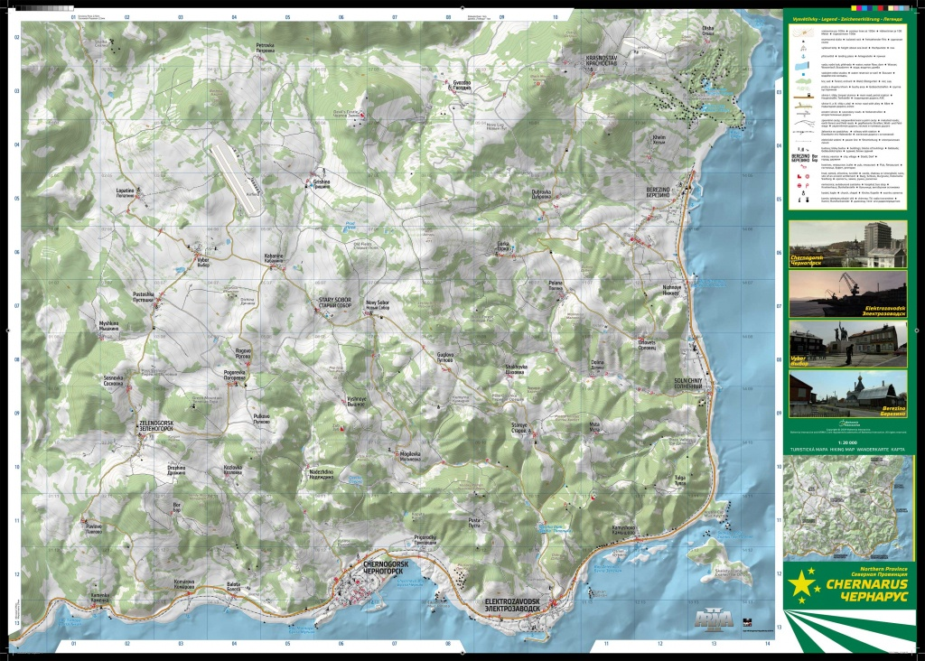 Chernarus Map Poster That I Printed : Dayz - Printable Dayz Standalone Map