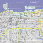 Chicago Maps   Top Tourist Attractions   Free, Printable City Street Map   Printable Street Map Of Downtown Chicago