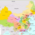 China Maps | Maps Of China   Free Printable Map Of China