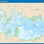 Choke Canyon Reservoir Fishing Map   Texas Fishing Hot Spots Maps
