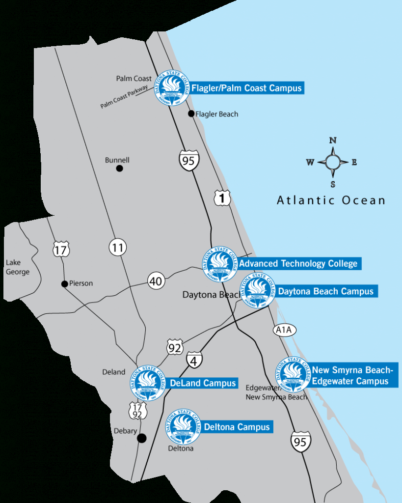 Choose Your Campus - New Smyrna Beach Florida Map