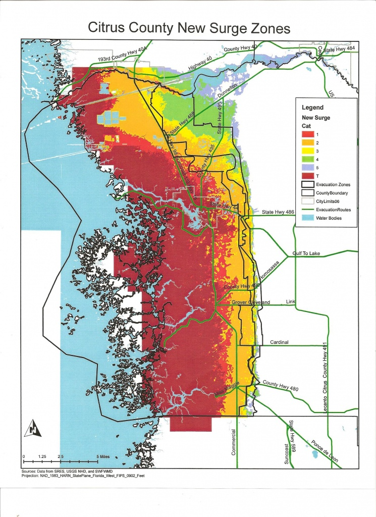 Citrus County Florida And Hurricanes | Cloudman23 - Marion County Florida Flood Zone Map
