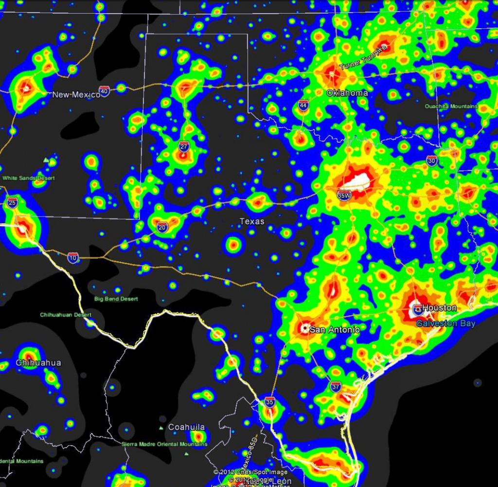 Classy Design Ideas Light Pollution Map Texas Summary - World Maps - Light Pollution Map Texas