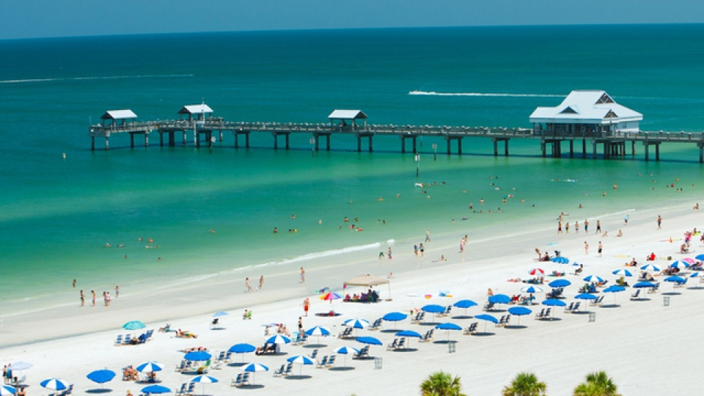 Clearwater Beach Named 'best Beach In America' For Second Year In A Row - Map Of Clearwater Florida Beaches