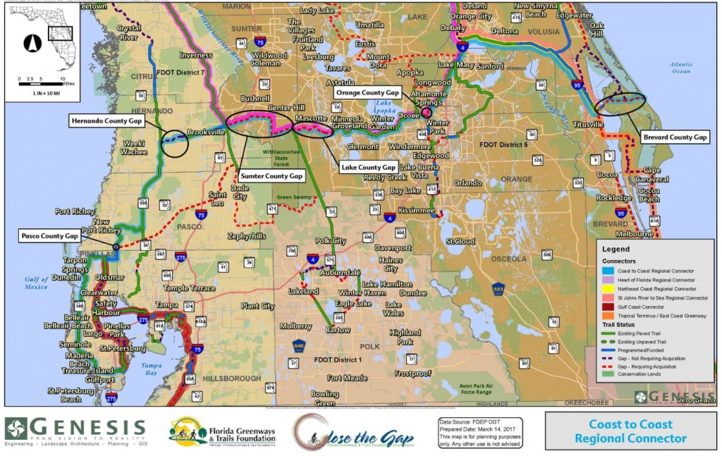 Close The Gaps   Genesis Cei Services - Florida Greenways And Trails Map