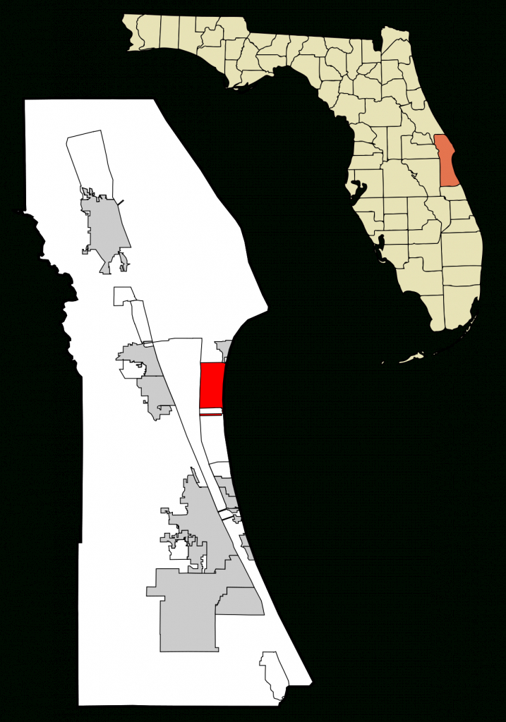 Cocoa Beach, Florida - Wikipedia - Map Of West Palm Beach Florida Showing City Limits