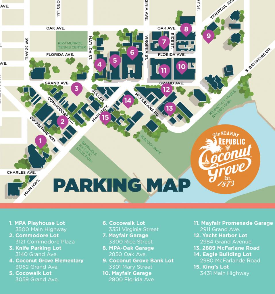 Coconut Grove Miami | - Coconut Grove Florida Map