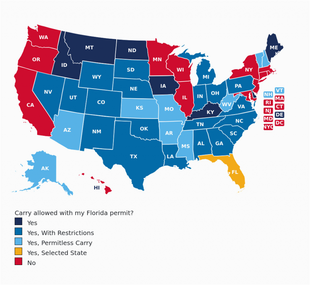 Colorado Concealed Carry Reciprocity Map Florida Concealed Carry Gun - Florida Ccw Reciprocity Map