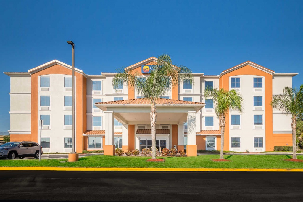 Comfort Inn & Suites Maingate South - Hotel In Davenport Fl Near - Davenport Florida Hotels Map