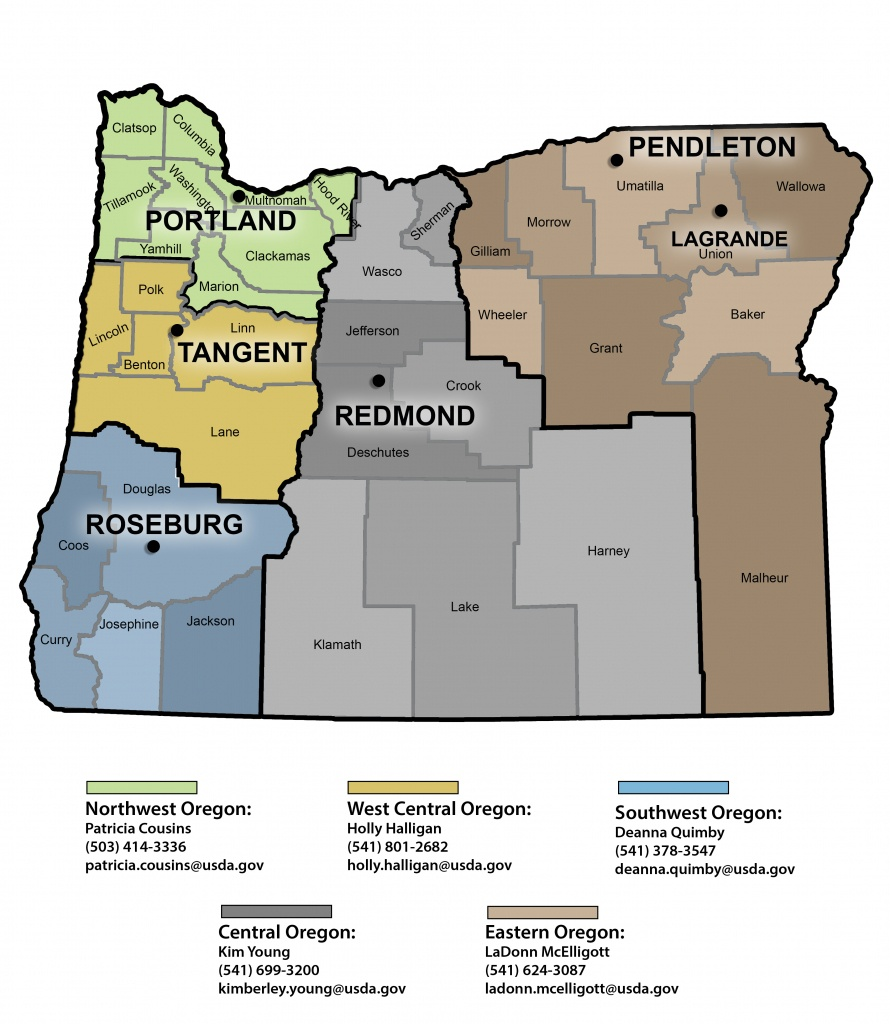 Community Facilities Direct Loan & Grant Program In Oregon | Usda - Usda Home Loan Map California