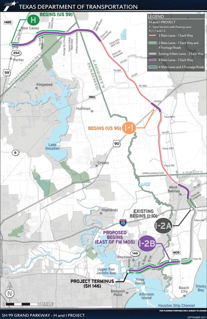 Construction On The Grand Parkway In New Caney, Baytown To Begin - New Caney Texas Map