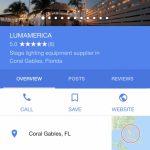 Contact | Lumamerica   Google Maps Coral Gables Florida