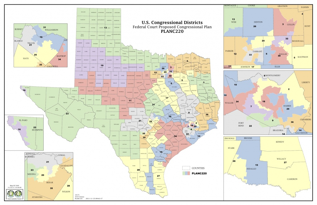 Could A San Antonio Federal Panel Resolve Texas' Redistricting Issue - Texas State District Map