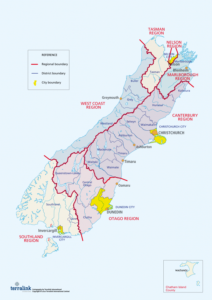 Council Maps And Websites   We Are. Lgnz. - New Zealand North Island Map Printable