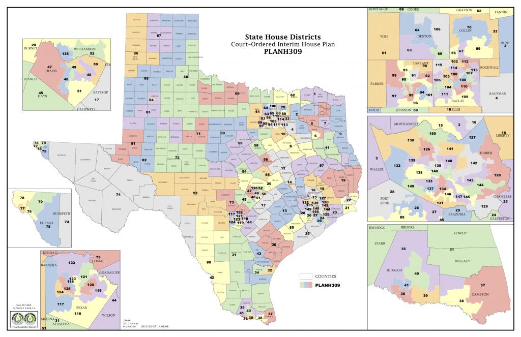Court Delivers Election Maps For Texas House, Congress | The Texas - Texas Representatives Map