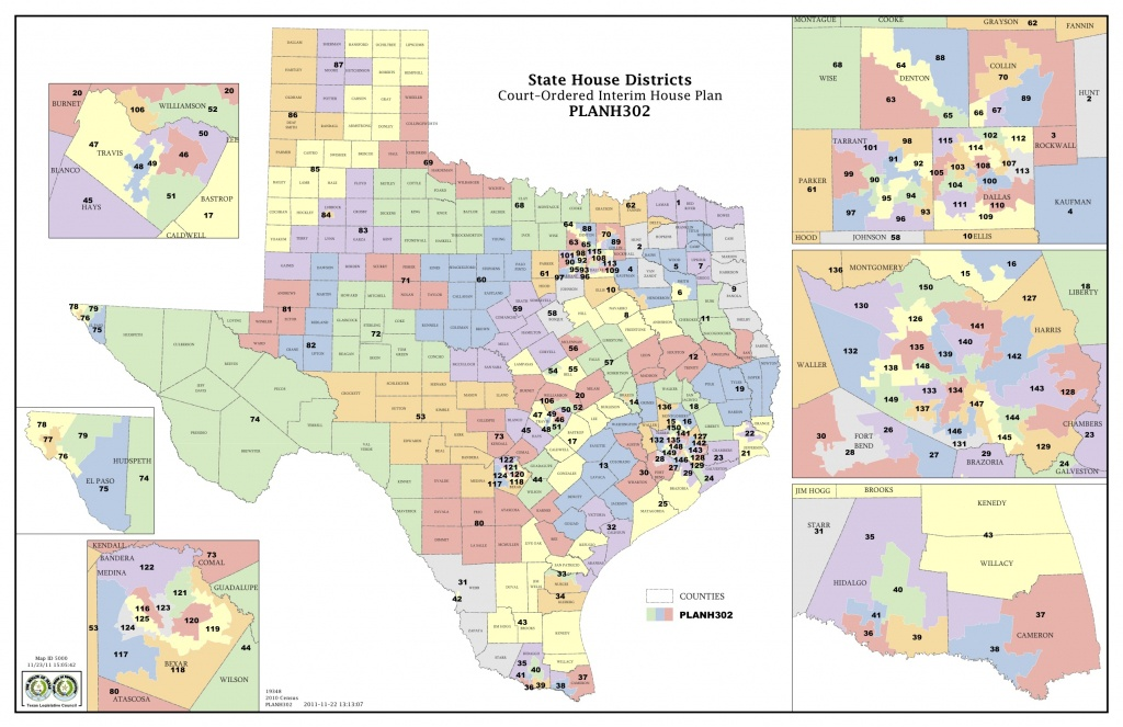Court Increases Minority Districts In Texas Legislature | The Texas - Texas Representatives District Map