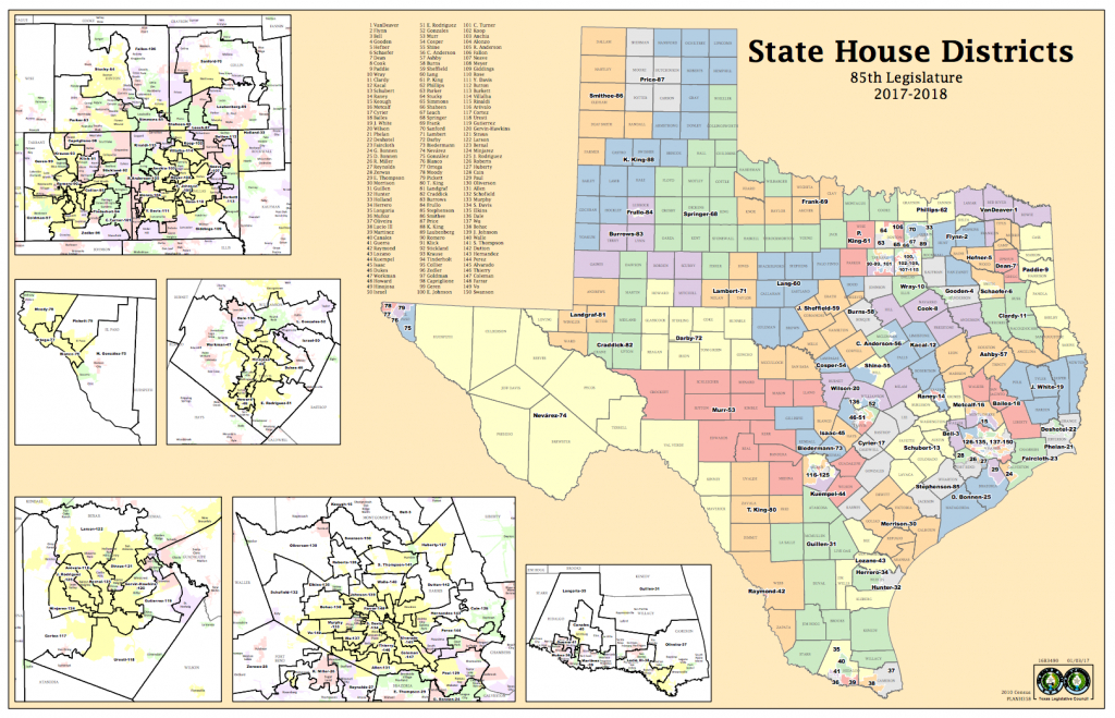Court Says Lawmakers Deliberately Gerrymandered Texas House Maps To - Texas House District Map