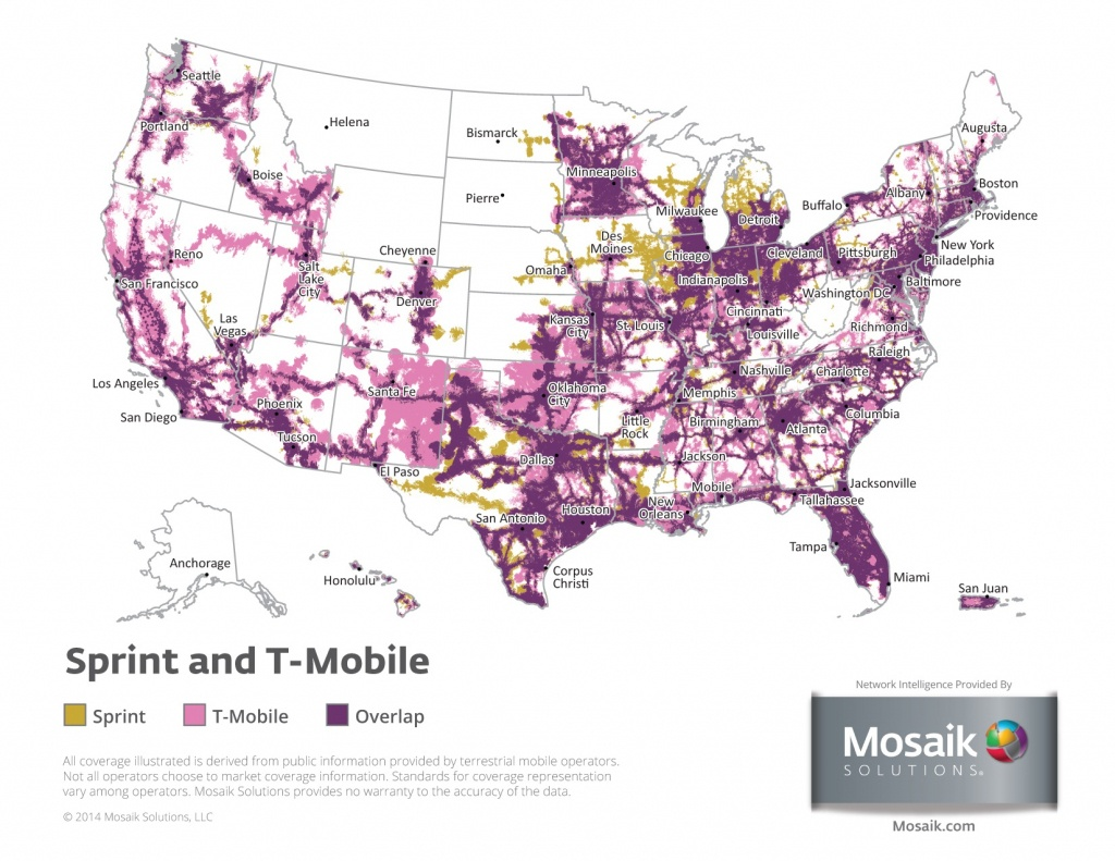 Coverage Maps For All Prepaid Carriers | Prepaid Phone News - Metropcs Coverage Map Texas
