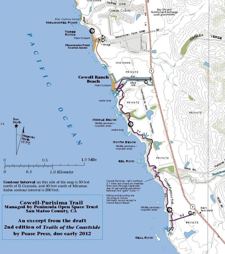Cowell Purisima Web Photo Gallery Where Is Half Moon Bay California - Half Moon Bay California Map