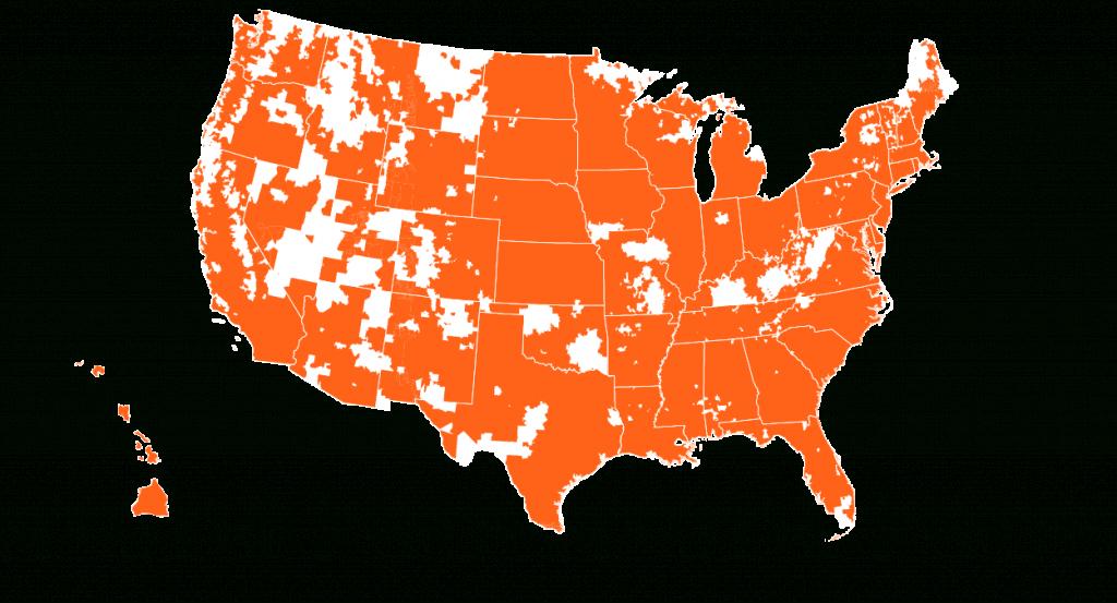 Credo Mobile Coverage Map | Credo Mobile - Verizon Lte Coverage Map California