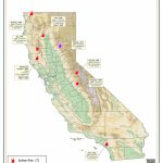 Current California Wildfires As Of August, 9Th     Active Fire Map For California