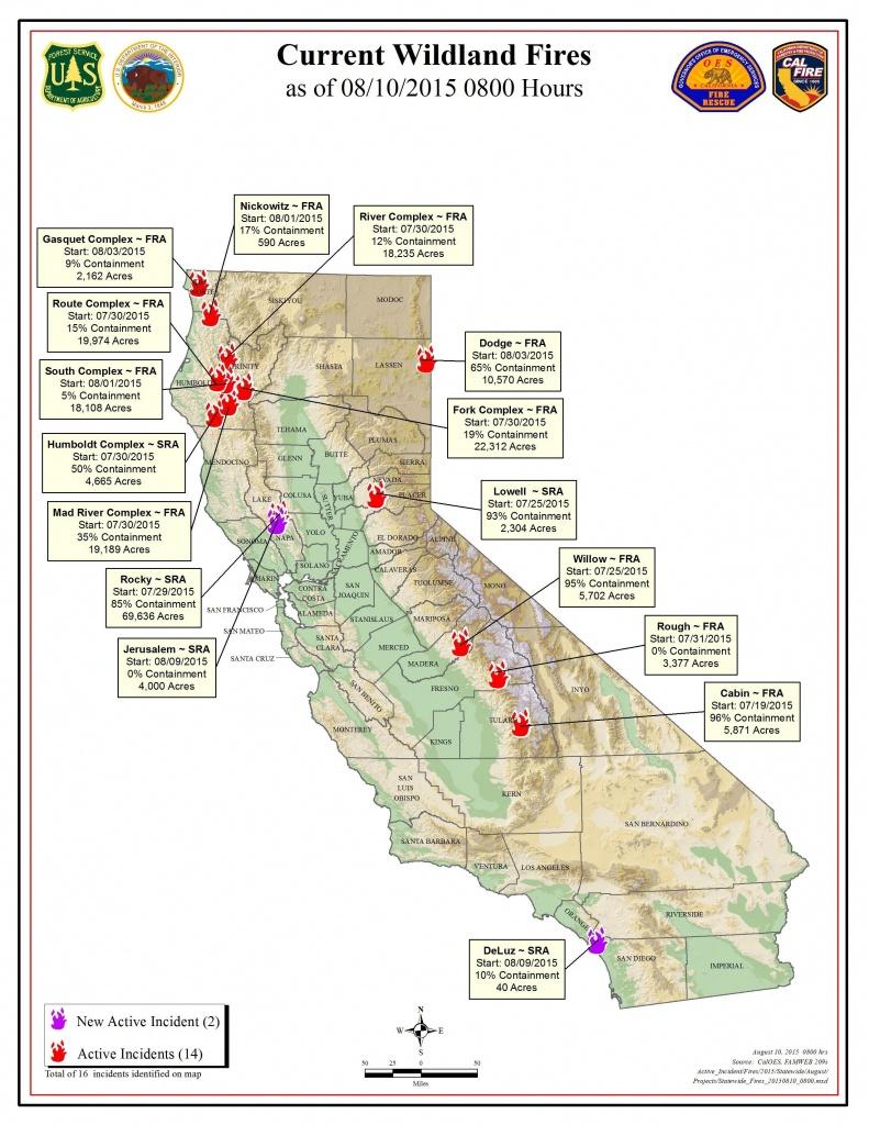 Current Fire Map – Kibs/kbov Radio Regarding Map Of California Fires - California Fire Map Right Now