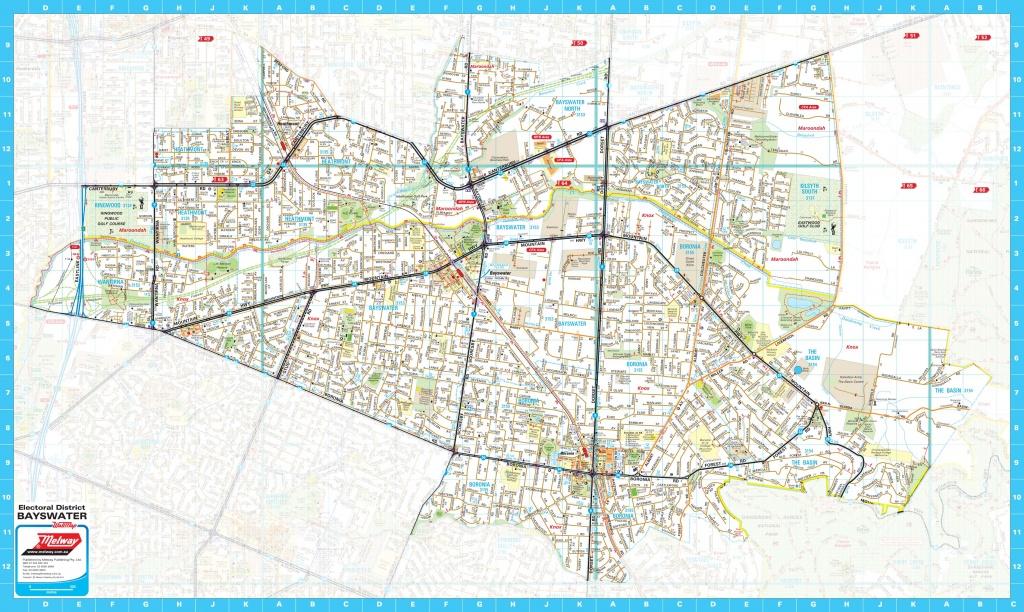 Custom Mapping - Create Printable Map