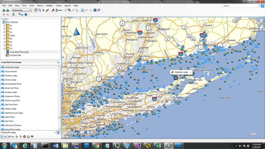 Custom Sd Card Of Fishing Spots For Your Gps Unit - The Hull Truth - Texas Offshore Fishing Maps