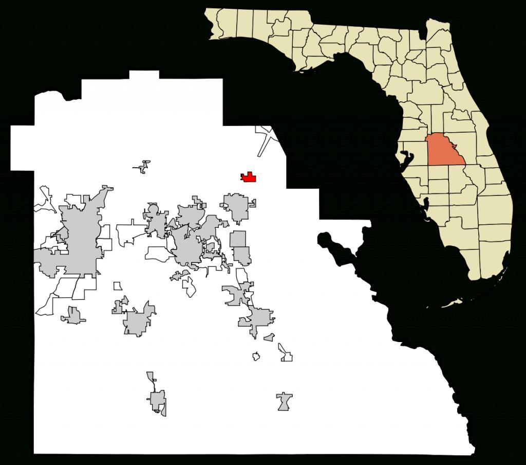 Davenport, Florida - Wikipedia - Champions Gate Florida Map