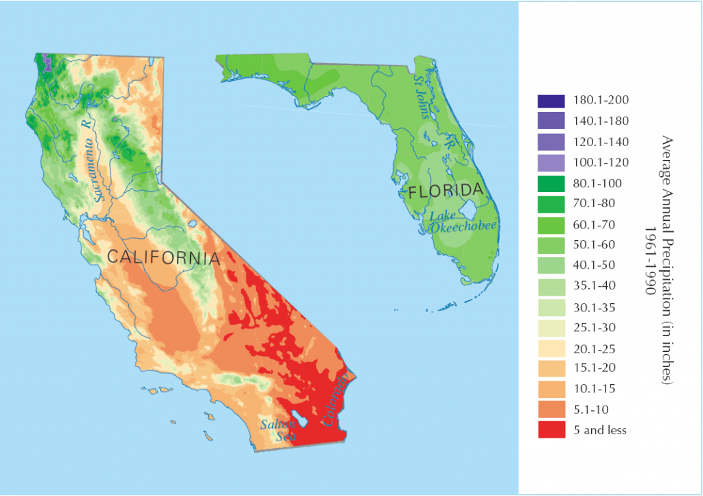 Davidson Brothers: California Vs Florida Oranges, What's The Difference? - Where Are Oranges Grown In Florida Map