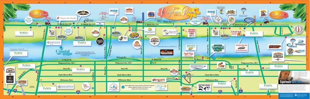Daytona Beach Hotel Map 2016 - Google Search   Vaca 2016   Daytona - Map Of Daytona Beach Florida Area
